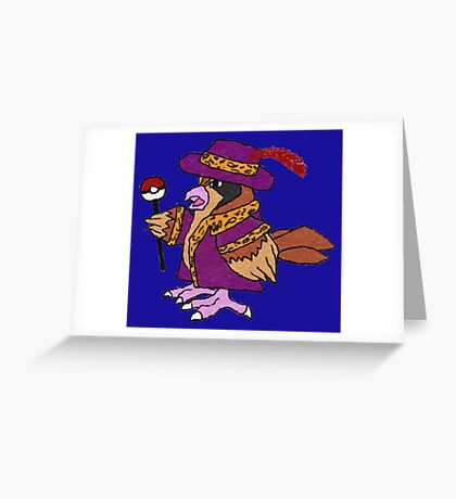 Pimp Pidgey Greeting Card