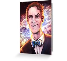 Bill Nye the Science Guy Greeting Card