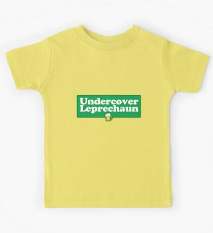 Undercover Leprechaun Kids Tee