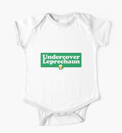 Undercover Leprechaun One Piece - Short Sleeve