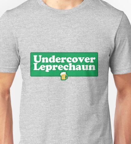 Undercover Leprechaun Unisex T-Shirt