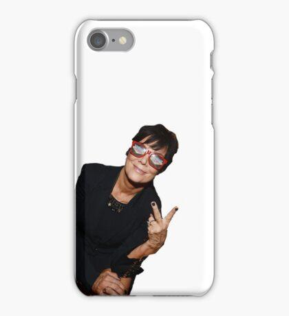 Kris Jenner Party Animal iPhone Case/Skin