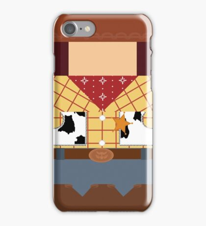 Woody Minimalist iPhone Case/Skin