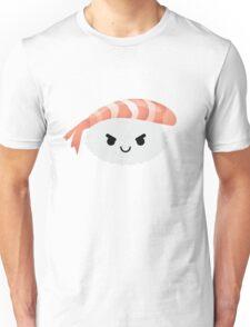 Shrimp Nigiri Sushi Emoji Naughty and Cheeky Unisex T-Shirt
