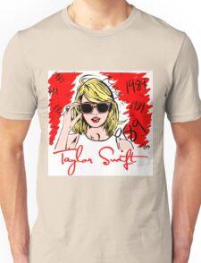 taylor swift 1989 red wahyu Unisex T-Shirt