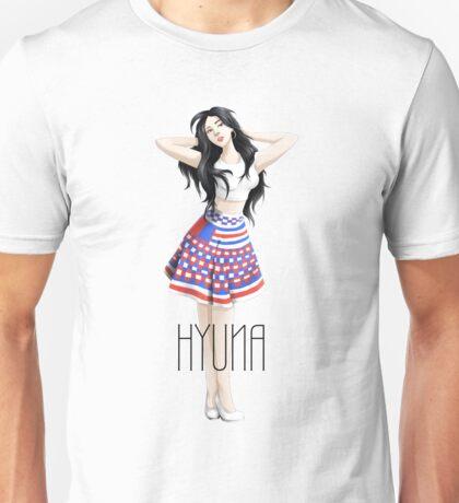Hyuna's Red Unisex T-Shirt