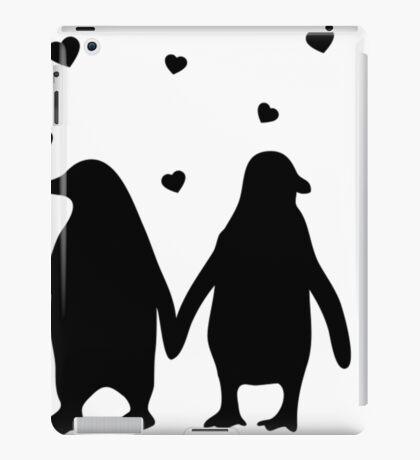 Penguins In Love - Love Each Other Penguins- penguin shirt iPad Case/Skin