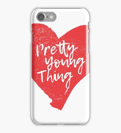 Pretty Young Thing Heart iPhone Case/Skin