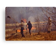 Fight to Win Canvas Print