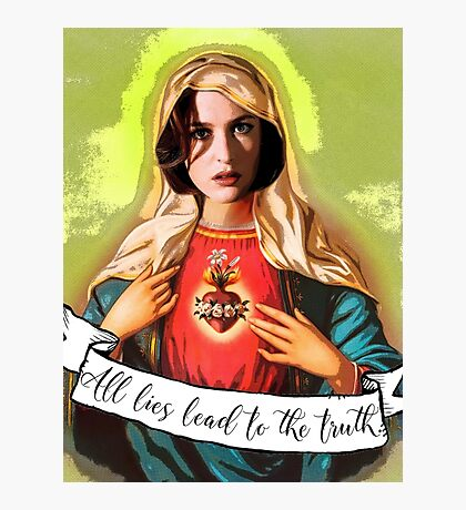 Holy Scully Photographic Print