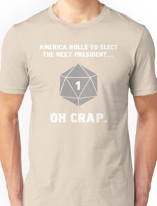 Anti-Trump RPG Humor Unisex T-Shirt