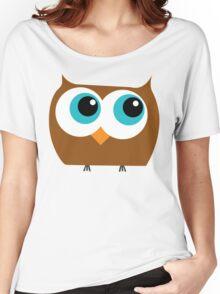Cartoon Owl Women's Relaxed Fit T-Shirt