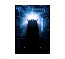 Dalek-tronic Art Print