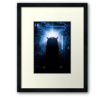 Dalek-tronic Framed Print