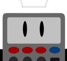 Angel Calculator Sticker
