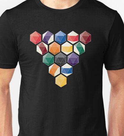 geometric billiard balls Unisex T-Shirt