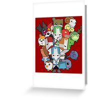 Castle Crasher all knight Greeting Card