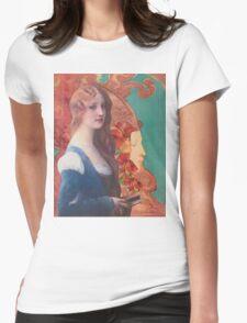 Fire Spirit Womens Fitted T-Shirt