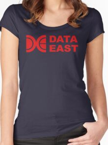 Data East (Logo) Women's Fitted Scoop T-Shirt