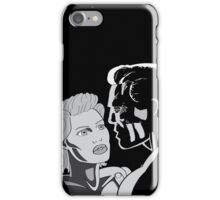 Couple - Black and White iPhone Case/Skin