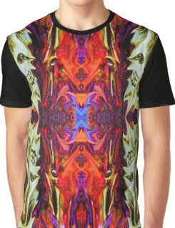Fractal Skull Chaos  Graphic T-Shirt