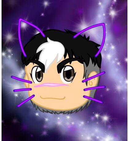 Shiro to Hero Sticker