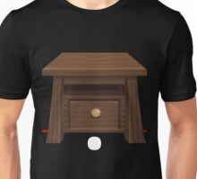 Glitch furniture sidetable wood side table Unisex T-Shirt