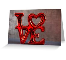 Love 3 Greeting Card