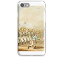 Johann Georg Paul Fischer, The Grand Duke Constantine's Regiment of Cuirassiers of the Imperial Russian Army in  iPhone Case/Skin