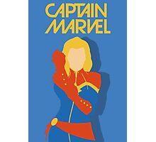 captain marvel Photographic Print