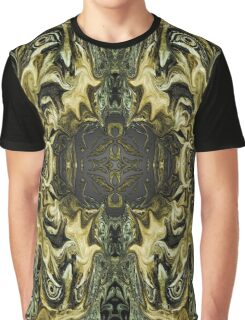 Green Fractal Graphic T-Shirt
