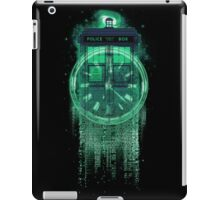 Through time and dimensions iPad Case/Skin