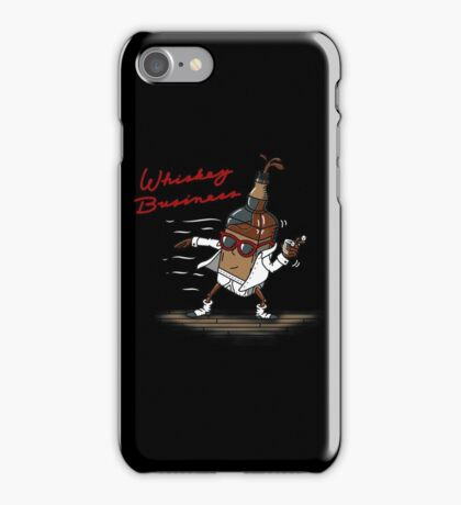 Whiskey Business iPhone Case/Skin