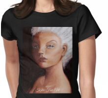 Mysterious Fey Womens Fitted T-Shirt