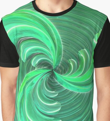 Verde Glass Bow Graphic T-Shirt