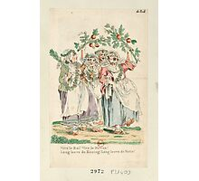 Vive le Roi! [Long Live the King!] - French Revolution - 1795 Photographic Print