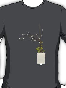 Glitch furniture smallbackfloordeco alakol willow plant T-Shirt