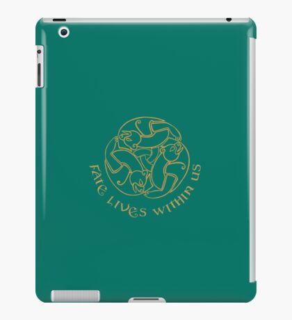 Fate Live Within Us iPad Case/Skin