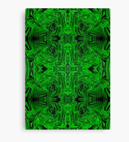 2017 Psychedelic Green Canvas Print
