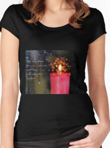 Strength Women's Fitted Scoop T-Shirt