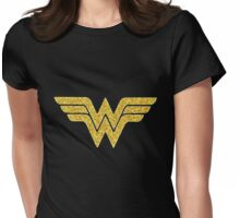 wonder women Womens Fitted T-Shirt