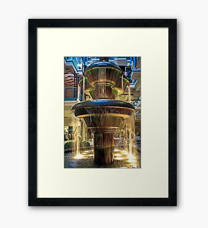 Montreal Plaza Framed Print