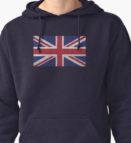 UK Flag Pullover Hoodie