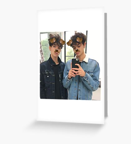 Lucas and Marcus Greeting Card