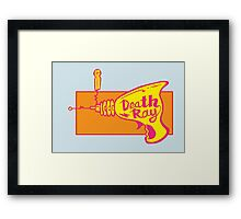 Death Ray Framed Print