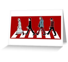 stabby road Greeting Card