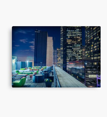 Rooftop Chill Canvas Print
