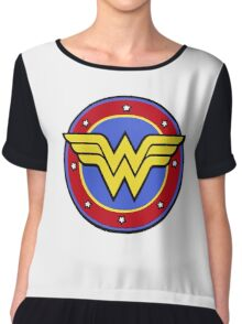 Wonder Woman Chiffon Top