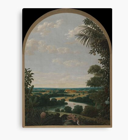 Landscape in Brazil. Frans Jansz. Post Canvas Print