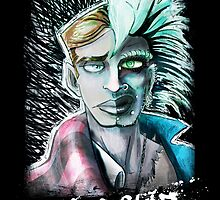 Punk Rock Two-Face by BryaSaurusREX